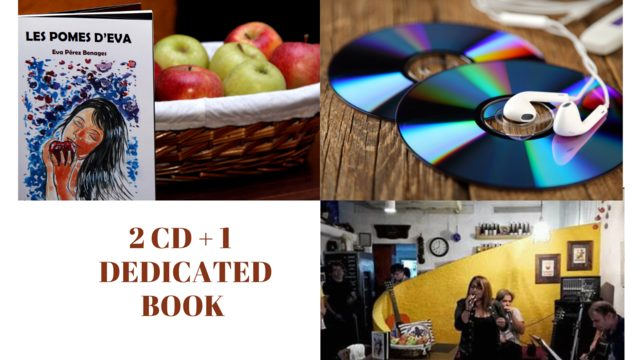 2 CD + 1  DEDICATED BOOK