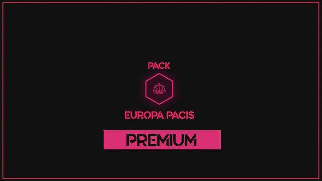 PREMIUM PACK EUROPA PACIS