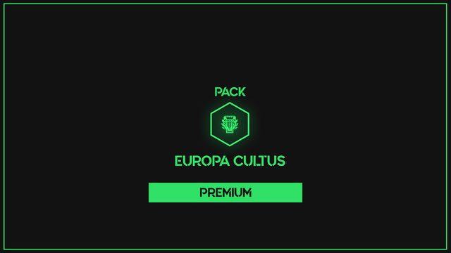 PREMIUM PACK EUROPA CULTUS