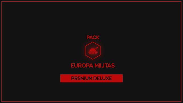 EUROPA MILITAS DELUXE PACK