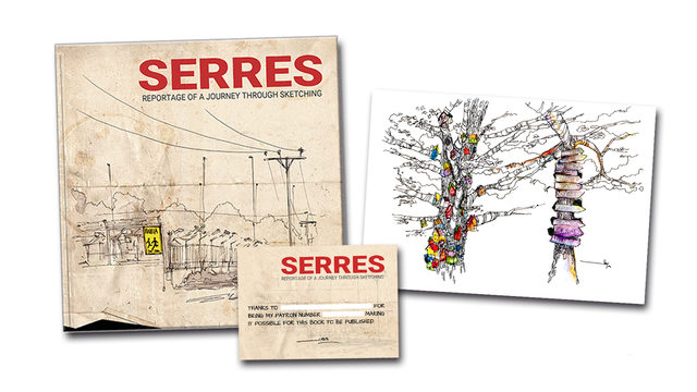 PRINT S2 (Limited Edition) + Book 'Serres' with a DEDICATION
