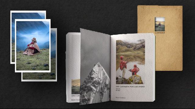 Adventurous hiker + Post cards