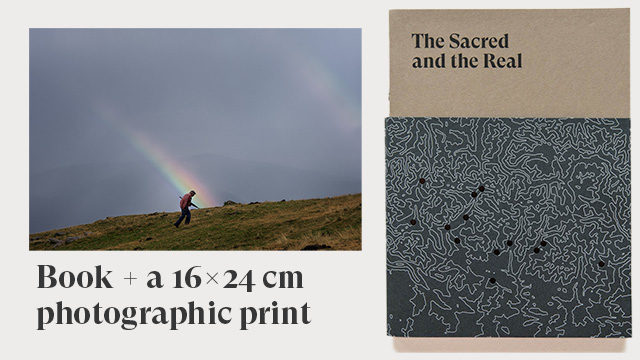 A copy of the book + 16x24 cm photographic print