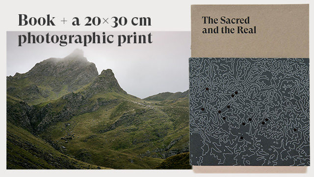 A copy of the book + a 20x30 cm photograpic print