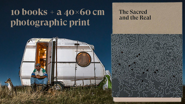 10 copies of the book + a 40x60 cm photographic print