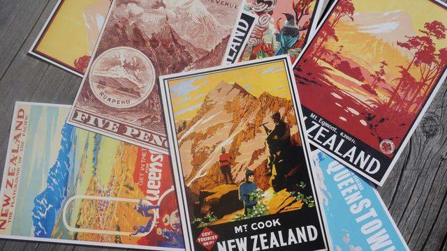Postal des de Nova Zelanda