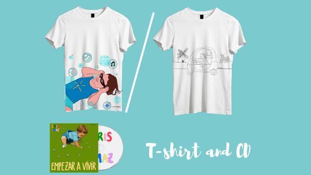 T-Shirt + Physical CD