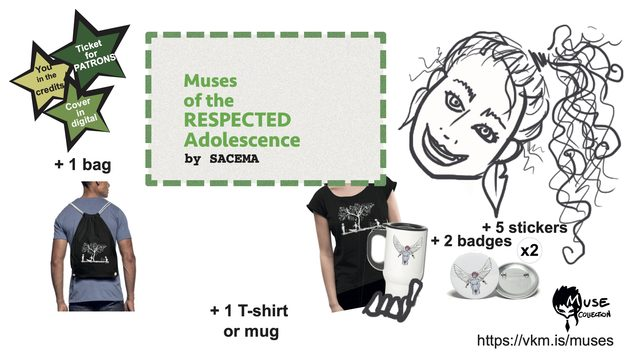 EXTRA FASHION MUSE PACK