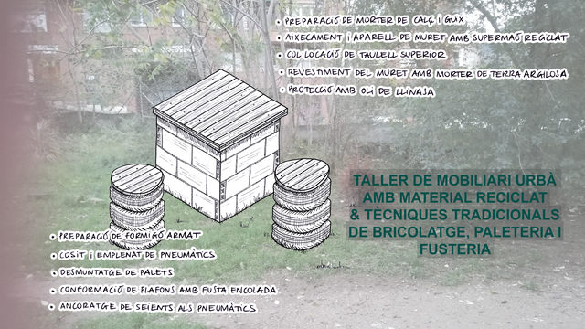Taller de construcción con materiales reciclados (16 de enero)
