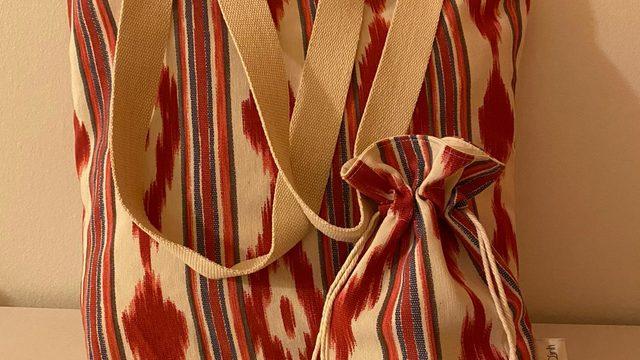 Bag + pouch handmade