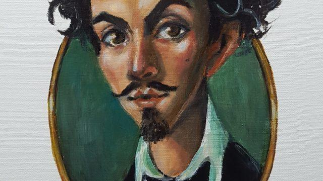 Portrait of Gustavo Adolfo Béquer by Aintzane Cruceta