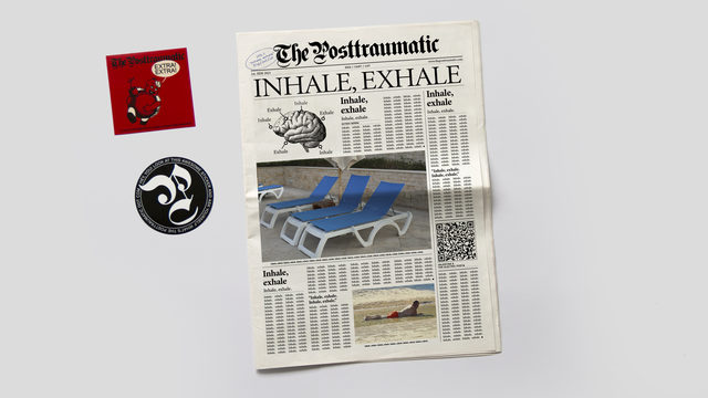 Newspaper + 2 stickers