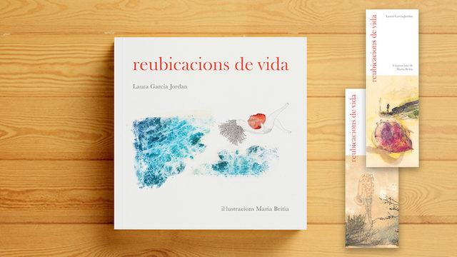 One copy of REUBICACIONS DE VIDA and two bookmarks + all our GRATITUDE