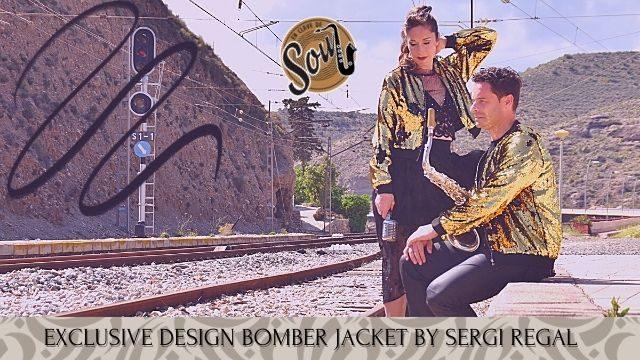SUPER FAN: We dress by SERGI REGAL designer