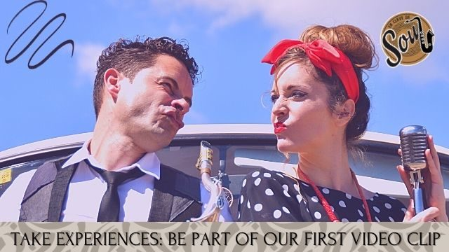 TAKE EXPERIENCES: Come with us to our First Video Clip