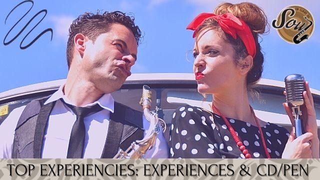 TOP EXPERIENCES: All experiences + Cd/Pen
