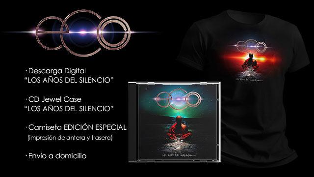 ''Los Años Del Silencio'' + camiseta EDICIÓN ESPECIAL