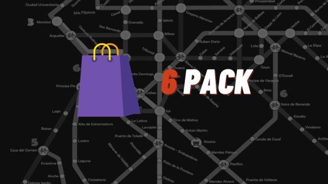Tiendas (6-Pack)