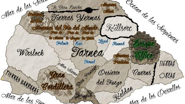 Mapa Altgea + Portada y contraportada
