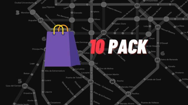 Tiendas (10-Pack)
