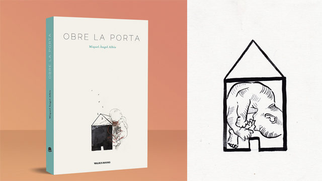 Llibre + Bossa serigrafiada + Il·lustració original de la bossa
