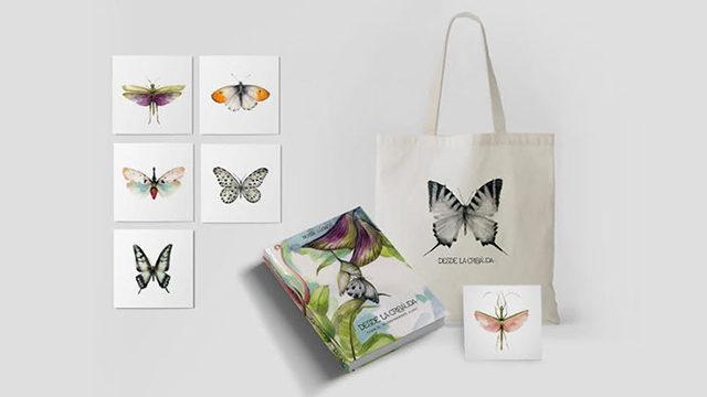 El libro + totebag + 6 prints (15 x 15 cm)