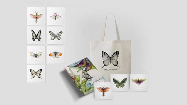 El libro + totebag + 10 prints (15 x 15 cm)