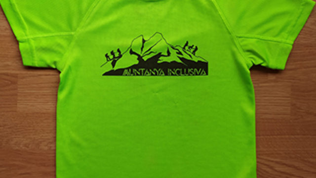 Inclusive mountain t-shirt