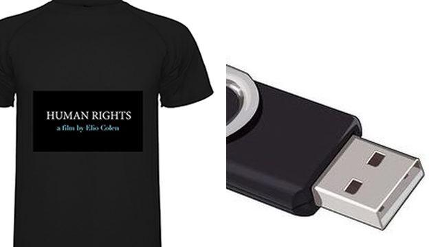 Camiseta + Película en USB