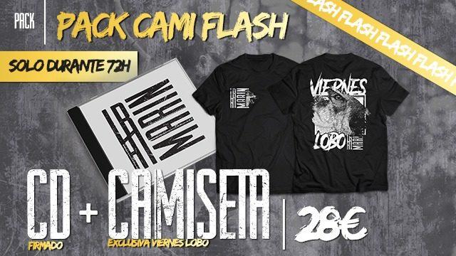 Pack Cami Flash!