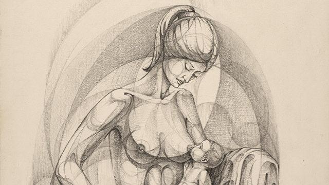 Maternidad Sentada