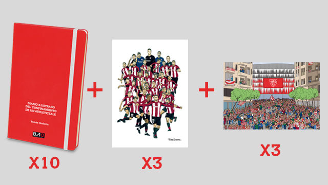 PACK LIBRERÍAS, PEÑAS ATHLETIC CLUB, FUNDACIONES, COLEGIOS Y EMPRESAS