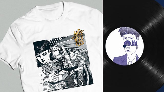 CAMISETA + VINILO Hits With Tits Vol. 7