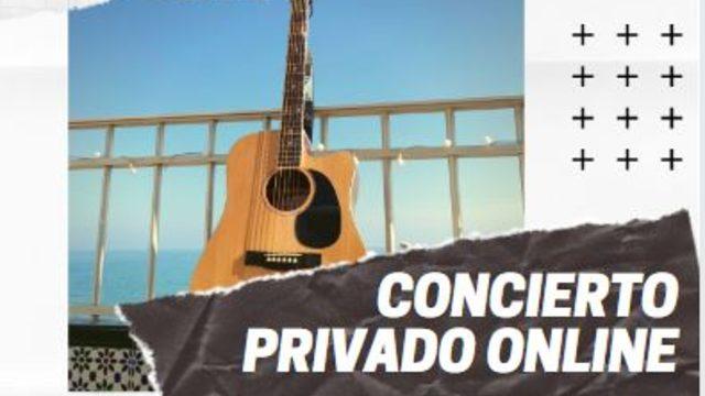 Concierto privado online