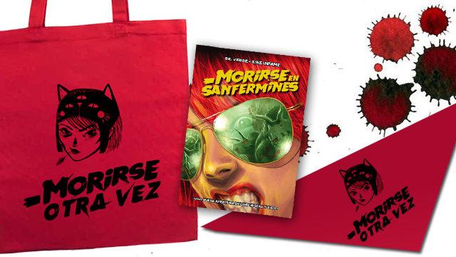 Kit de fiestas en bolsa roja