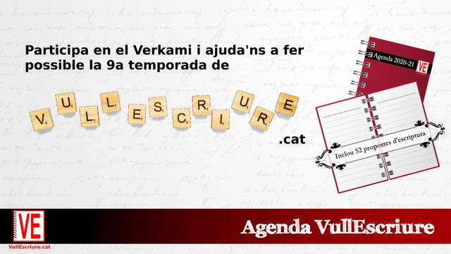 Agenda VullEscriure