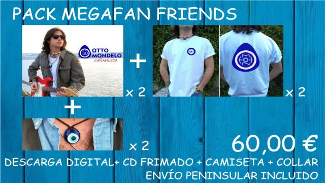 PACK MEGAFAN FRIENDS