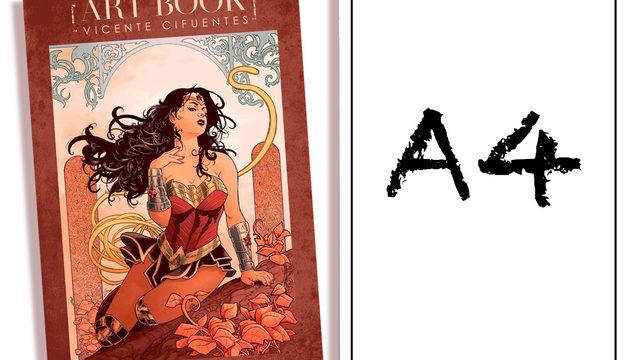 A4 EN EL ARTBOOK