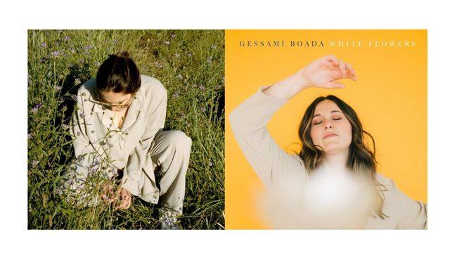 """Signed CD of """"On començo jo"""" + """"White Flowers"""