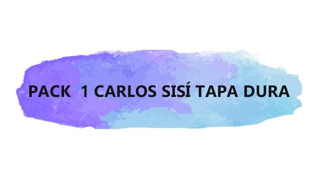 PACK 2 CARLOS SISÍ: TAPA DURA (2020)