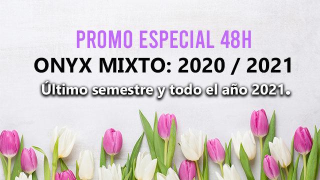 OFERTA  48H 10 LIBROS ONYX MIXTO 2020/2021
