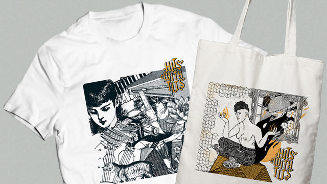 Camiseta Hits With Tits Vol. 7 + Totebag