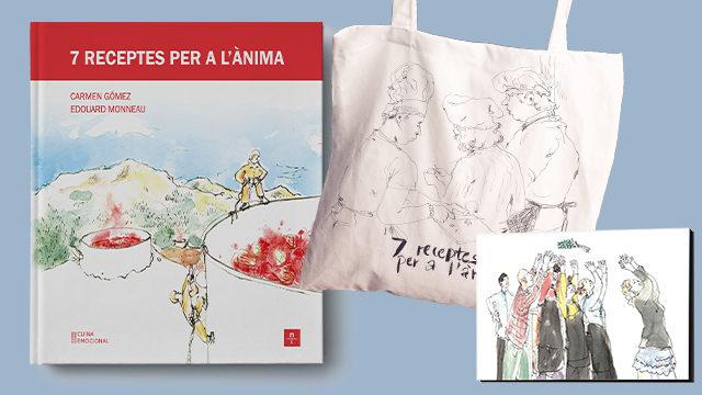 6. Llibre + bossa amb ànima + imant de nevera