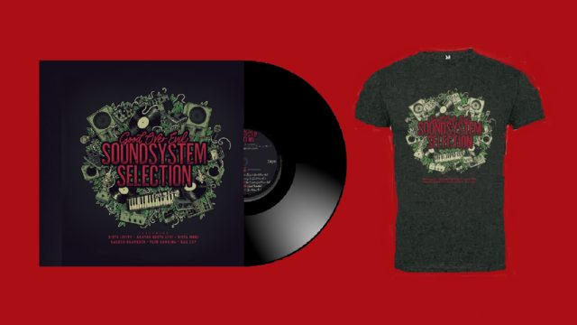 Vinyl Sound System Selection + tshirt