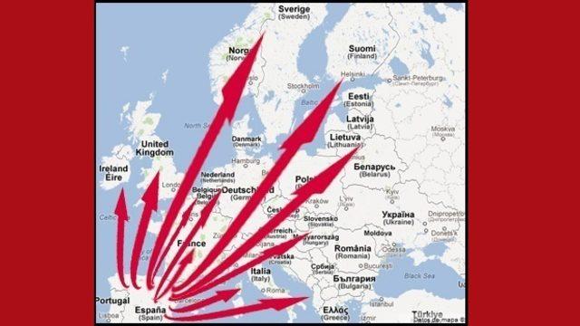 Europe shippings