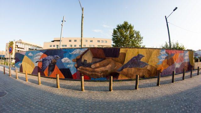 Mural de gran format