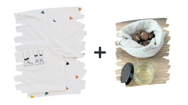 Pack Pro: T-Shirt + Laundry Eco Kit