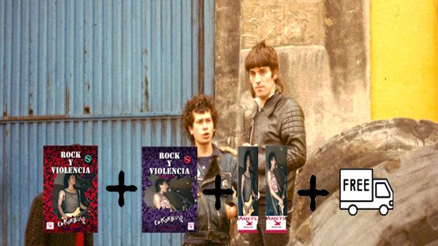 Pack libros Rock y Violencia Eskorbuto