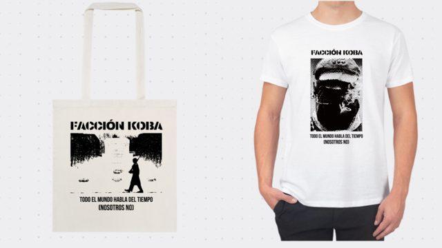Camiseta O bolsa de tela Facción Koba