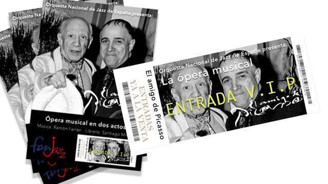 Mecenas en el cartel de la obra + 5 entradas VIP